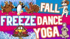 Pe Activities, Halloween Activities, Dance Warm Up, Freeze Dance, Gym Video, U Tube, Yoga Dance, Teacher Binder, Brain Breaks