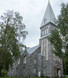The New Church of Vastanfjard was built in 1910-1912 in the National Romantic style. It has been restored in 1956 and 2003. The altarpiece dates from 1864.