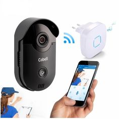 Video Door Phone Intercom Wireless Wifi Doorbell With Night Vision