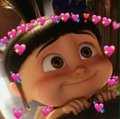 New Memes Apaixonados Wallpaper Ideas Cute Disney Wallpaper, Cute Cartoon Wallpapers, Kpop Wallpapers, Sapo Meme, Agnes Despicable Me, Memes Lindos, Heart Meme, Cute Love Memes, In Love Meme