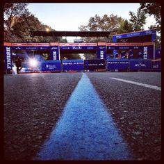 ING New York City Marathon Finish Line (Now Closed) - Central Park - New York, NY