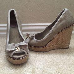 TORY BURCH Super cute espadrilles. Great condition! Tory Burch Shoes Espadrilles