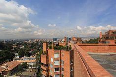 Vista de la terraza a la ciudad
