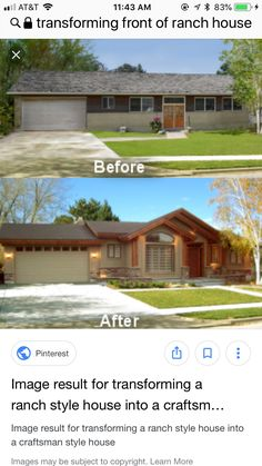 home decor crafts Home Exterior Makeover, Exterior Remodel, House Siding, Facade House, Ranch House Remodel, House Front, Front Porch, House Makeovers, Fixer Upper