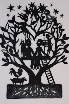 The amazing papercutting art of Sue Codee: this papercut life