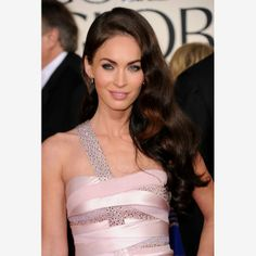 Megan Fox - to create a more dramatic shape and the illusion of a perfect arch, brush the brows upwards.