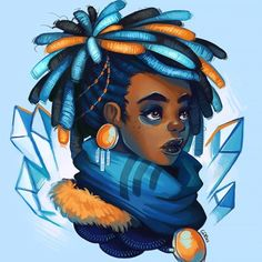 FEATURE: Check out the whimsical, technicolored world of self-taught illustrator Geneva Benton