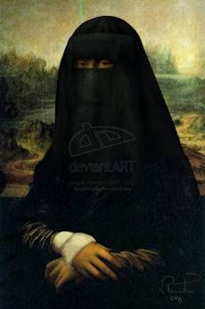 Mona Lisa in Middle East
