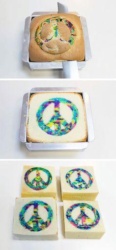 La tarta de la paz