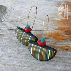 https://flic.kr/p/a1SNbh | Earrings | polymer clay jewellery - earrings