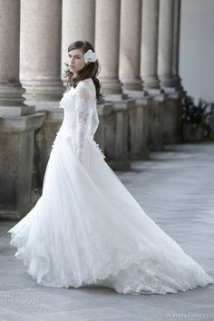 Alberta Ferretti Spring Summer 2014 Bridal Collection