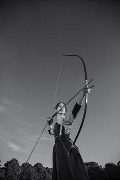 Кюдо, древнее искусство Японии стрельба из лука - портфель Марка Араужо - Петля