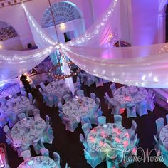 Event Draping / Themed Linen | Event production, prop hire and party theming by Theme-Works