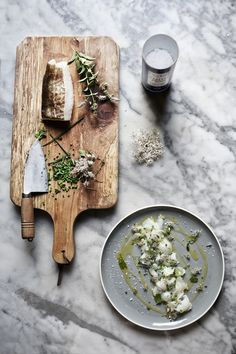 Fish with sea salt and herbs