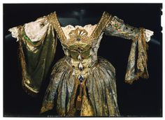 18th-century-inspired costume designed by Wilhelm for Adeline Genée in La Danse, 1912-14 - From the V&A