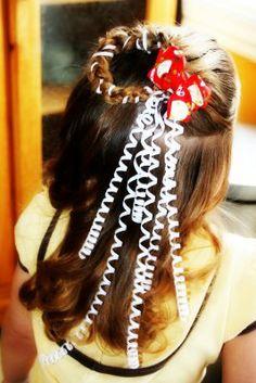 Christmas hair idea.