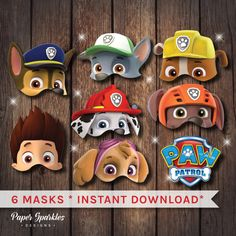 Art Can Be Made Naps May Be Had — Paw patrol masks, Paw patrol party, Paw patrol,. Paw Patrol Face Paint, Paw Patrol Masks, Paw Patrol Cartoon, Zuma Paw Patrol, Paw Patrol Birthday Decorations, Paw Patrol Birthday Girl, Chase Paw Patrol Costume, Cumple Paw Patrol, Baby