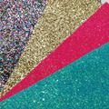 Malá veľkosť Zavalitý Glitter Brainbow Glitter Pink Glitter Modrá Glitter pre kutilov Šijací Fabric SK02C