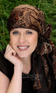 Shop beautiful head wraps for women in an array of styles, colors and patterns. Our head wraps & chemo scarves are ideal for cancer patients or any fashionable woman who wants to look her best. Discover our elegant head wrap scarf collection today! Head Scarf Tying, Head Wrap Scarf, Diana, Hair Cover, Scarf Design, Scarf Hairstyles, Up Girl, Mode Style, Silk Scarves