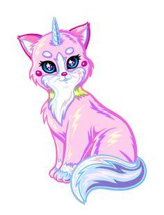 angernon:  Princess Unikitty in the style of Lisa Frank :)
