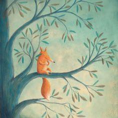 littlechien via carnetimaginaire carnetimaginaire:  Marcela Calderon, Up a tree