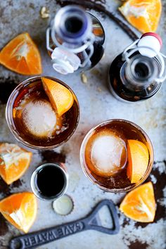Coffee Dark and Stormy (+ a recipe for Homemade Coffee Liqueur) | www.floatingkitchen.net