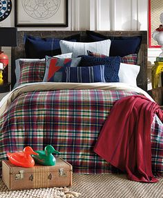 I just bought this.. Yep Nessa CLOSEOUT! Tommy Hilfiger Middlebury Plaid Comforter Sets