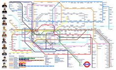 Oh, My God.  Seriously.  This is fundamentally nuts.  And also AWESOME.  Doctor Who Tube Map by Crispian Jago by combomphotos, via Flickr