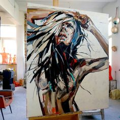 "Painting : Anna Bocek ""Summer Wind"""