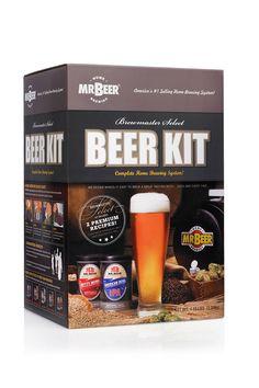 Mr Beer Brewmaster Select Beer Kit.