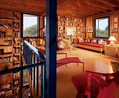 Truman Capote's home in the Hamptons (Architectal Digest, 1965)