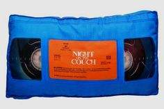 VHS Tape Retro 3D Pillow        Deal of the day   http://amzn.to/2bHgjko