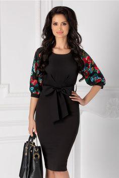 Rochii cu Imprimeuri Emma Style, Blouse Styles, Foxes, Blouses For Women, Peplum Dress, Cold Shoulder Dress, English, Women's Fashion, Floral