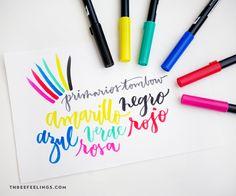 Ya sabes que en esto del lettering y la caligrafía y tantas posibilidades como materiales. Lo que ahora se lleva son los Tombow, rotuladores acuarelables con dos puntas (¡así que con doble uso!) Déjate llevar por sus trazos fáciles y suaves, escribe con su punta de pincel, mezcla los colores y crea diseños únicos que …