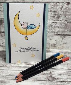 Moon Baby, Doppelt gemoppelt, Stampin' Up!, scraphexe.de