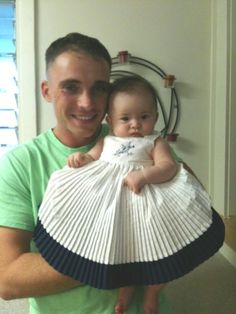 My beautifaul Granddaughter Charli and her Daddy, my wonderful son, Christopher!