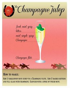The Official Mint Julep of the Kentucky Derby, and 4 Brilliant Variations on the Classic Derby Time, Derby Day, Kentucky Derby Food, Kentucky Derby Party Ideas, Derby Recipe, Derby Horse, Run For The Roses, Party Drinks, Summer Cocktails