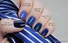 Blue comparison | Flickr - Photo Sharing!