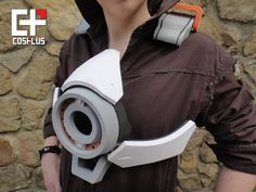 Tracer's Chest Armor Foam Build by Cosplus3D on DeviantArt Costume Tutorial, Cosplay Tutorial, Cosplay Diy, Best Cosplay, Cosplay Costumes, Cosplay Ideas, Tracer Cosplay, Overwatch Tracer, Arte Robot