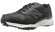 Made from microfiber leather these mens spiked golf shoes by New Balance feature champ slim lok removable cleats! Best Golf Shoes, Womens Golf Shoes, New Balance Herren, New Balance Men, Golf Fashion, Fashion Shoes, Best Gloves, Turf Shoes, New Golf