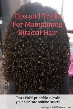Biracial Hair Care Tips To Keep Curls Defined, Soft, and Frizz-Free biracial hair care tips Mixed Hair Care: Tips forEverything You Ever WanteWashing biracial hair: My Mixed Curly Hair, Mixed Hair Care, Curly Hair Tips, Curly Hair Care, Curly Hair Styles, Natural Hair Styles, Frizzy Hair, Curly Girl, Dry Hair