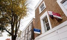 To let signs in Islington, north London