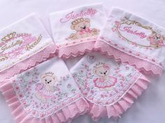 Crewel Embroidery, Embroidery Designs, Baby Crafts, Diy And Crafts, Little Girl Dress Patterns, Baby Sheets, Baby Dress Design, Dulhan Mehndi Designs, Brother Embroidery