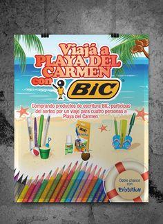 Campaña Back to School para Bic Uruguay