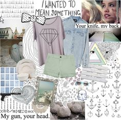 """""""Maybe what they say is true, though for all the wrong reasons. It's the personal costs that are too high. There so much more you need to do with your life. There's so much more than this."""" by the-clary-project ❤ liked on Polyvore"""