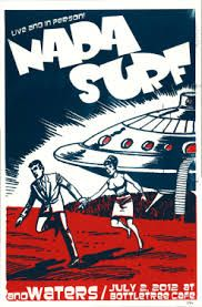 Image result for nada surf posters Nada Surf, Surf Posters, New Flyer, Surfing, Comic Books, Band, Comics, Image, Poster
