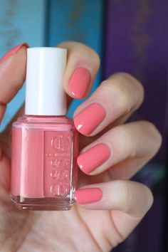 Essie Rose Comparison : Eternal Optimist, Fun In the Gondola, Stitch By Stitch, Stones 'n' Roses, Oh Behave & Pinned Up | Essie Envy