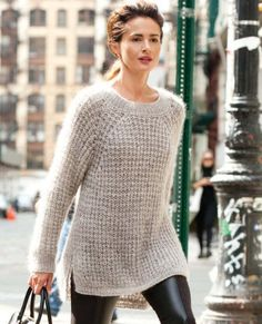 seryiy pulover 1   Домоседка