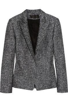 Haider Ackermann|Woven linen-blend blazer |NET-A-PORTER.COM