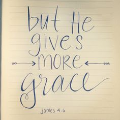 Grace upon Grace // Bible Verse Canvas // Hand Lettering on Etsy, $15.00